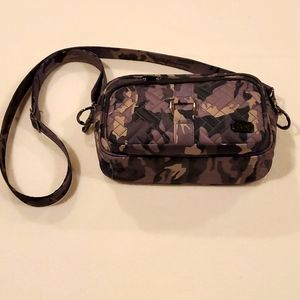 Lug Carousel Camo Black Conertable Crossbody Bag